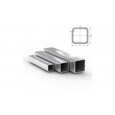 Труба стальная нержавеющая квадратная матовая Aisi 430
