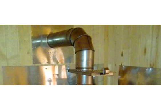 Печь из нержавеющей стали для бани