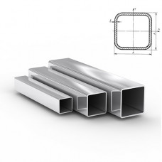 Труба нержавеющая квадратная зеркальная Aisi 201 (12Х15Г9НД)